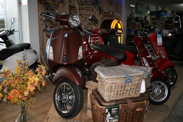 vespa showroom