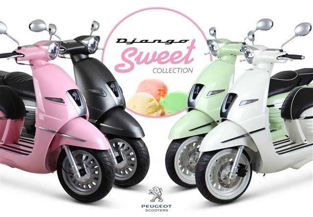 peugeot Django Sweet Collection